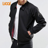 Tall Men Jackets Long Sleeve Black