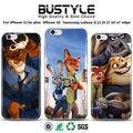 The latest popular Crazy Animal City Nick Fox Design phone case for iPhone 6/6s plus iPhone SE, for Samsung galaxy S7 edge case