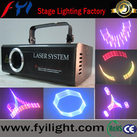 3D RGB animation laser projector/laser show light