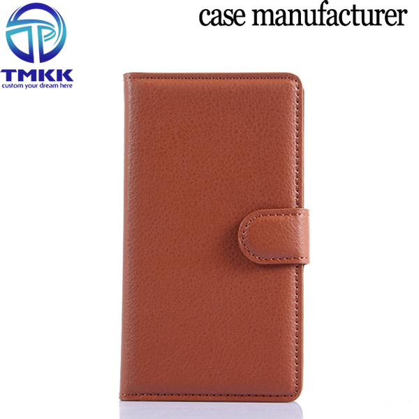 LM5352 Lithi Pattern PU Leather Wallet Case for Microsoft Lumia 535