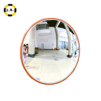 30cm Indoor Convex Mirror Round Plastic PC Lens for Warehouse