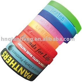 Various Styles of Silicone Bands