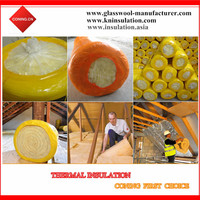 High Temperature Glass Wool Heat Resistance Roofing Insulation Materials