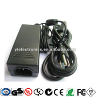 50W adaptor laptop adapter switching power supply 12V 4.16A, 24V 2A with CB UL CUL CE GS TUV PSE SAA CQC