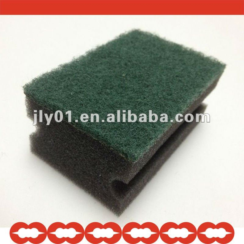 High-durable cleaning sponges with extension handle