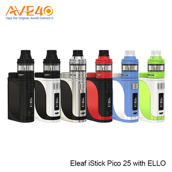 2017 Trending Products Smoke Electronic Kit Express Ali Eleaf iStick Pico 25 Vape Pod Mod With ELLO Vaporizer Tank