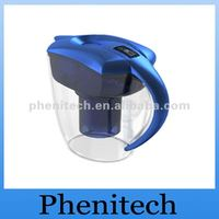 2012 hot sales!! Alkaline water pitcher with energy and filter (Double filter)