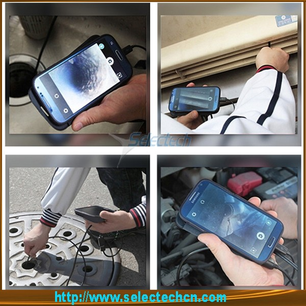 2016 The New Hot selling portable usb wifi wireless endoscope camera