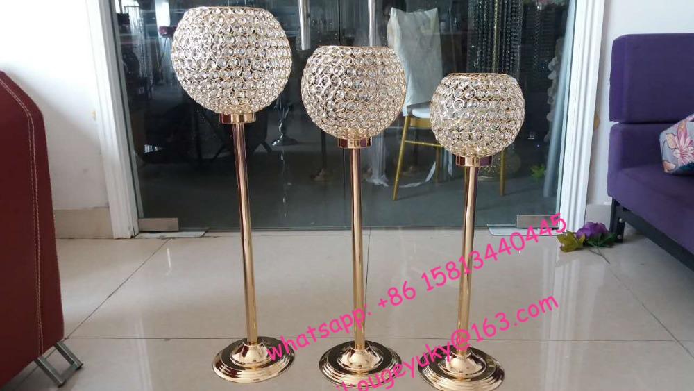 wedding decorative metal candle holder gold candle holder wholesale