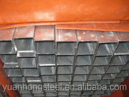 China Galvanized Square Steel Pipe Price