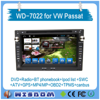 2016 car dvd gps for vw passat car gps navigation with radio TV bluetooth auto radio wifi 3g android double din