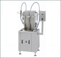 High Speed Automatic Two Head Volumetric Liquid Bottle Filling Machinery
