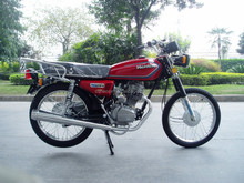Classic design 125cc motorcycle