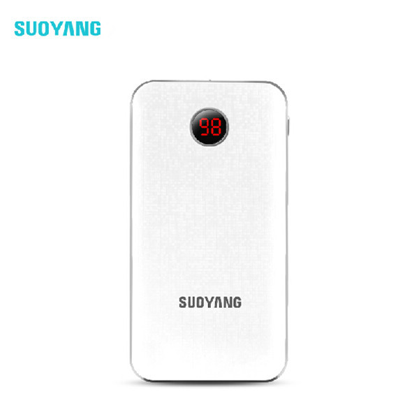 Suoyang Thinner 10000mah Original 5v 1-2a Usb portable mobile phone charger