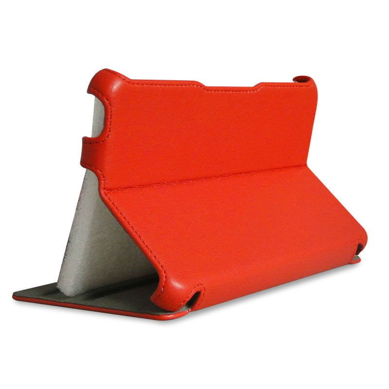 New arrival! for amazon kindle fire HD hot pressing leather case with multi-angle stand