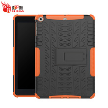 Hybrid for ipad 2017 kickstand case for ipad air 9 inch ,Belt clip case for ipad 2017 2018 9.7