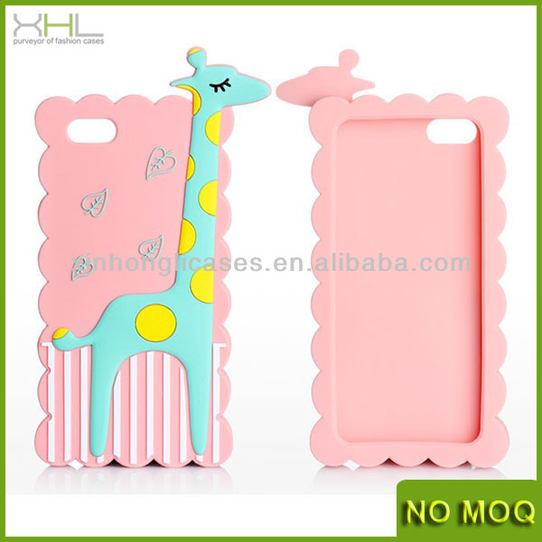 high quality silicone cover for iphone 5