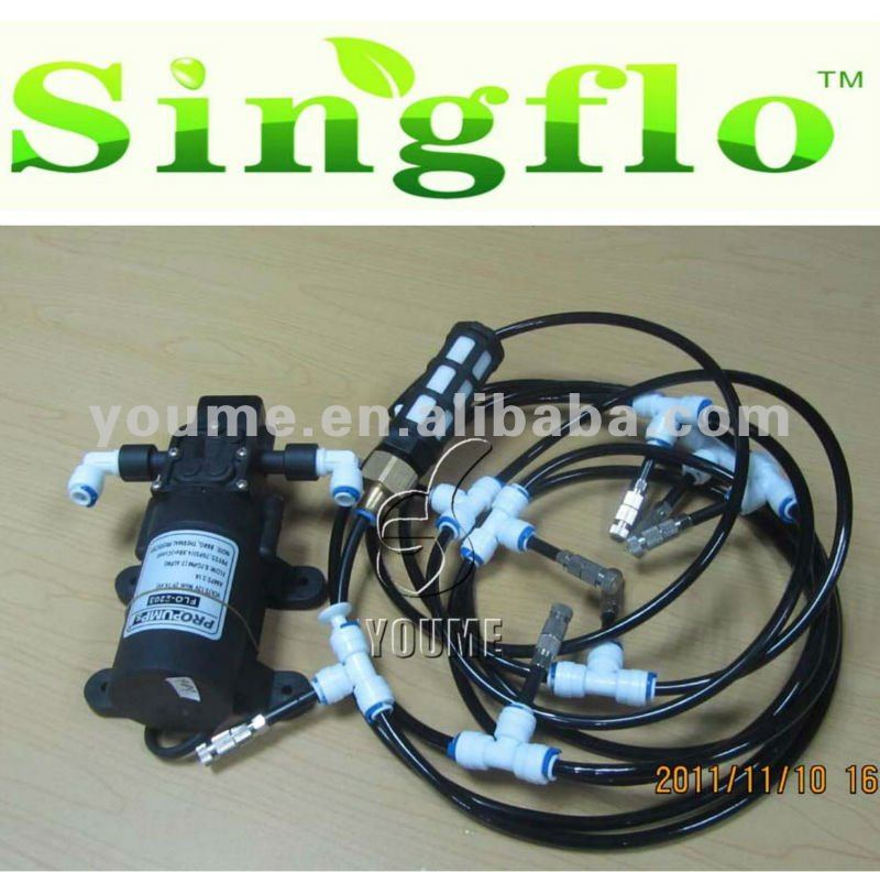 Singflo mini rain misting system pumps for agriculture & garden