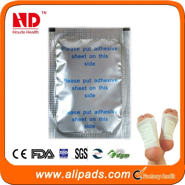 Beauty detox foot patch new products made in China