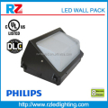DLC Approval 120w LED wall pack with motion sensor