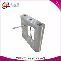 Rfid card reader hign security access control tripod turnstile barrier gate