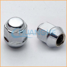 Factory supply high quality white lug nuts