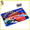 China handmade factory price cute outdoor rugs Disney car theme red carpet