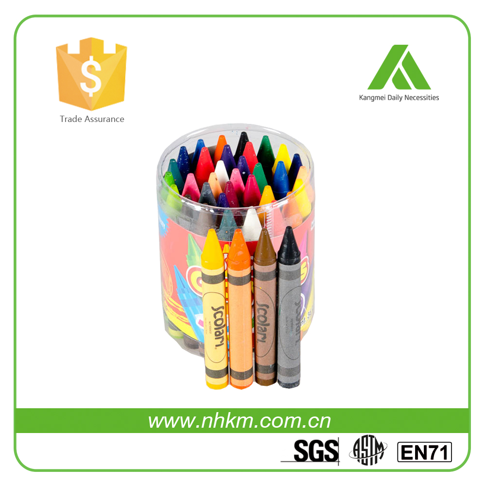 Hot sale washable children mini 36 colours wax crayons, non toxic oil drawing pastels color pen set for kids