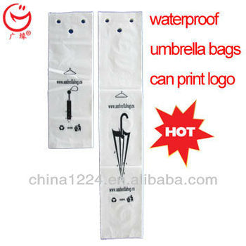 European Union standard biodegradable plastic umbrella bag wholesale