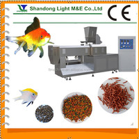 Best Quality Automatic Bulk Extruded Dried Fish/Pet Food Machine