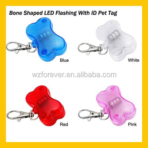 Plastic Custom Shape Dog Tag