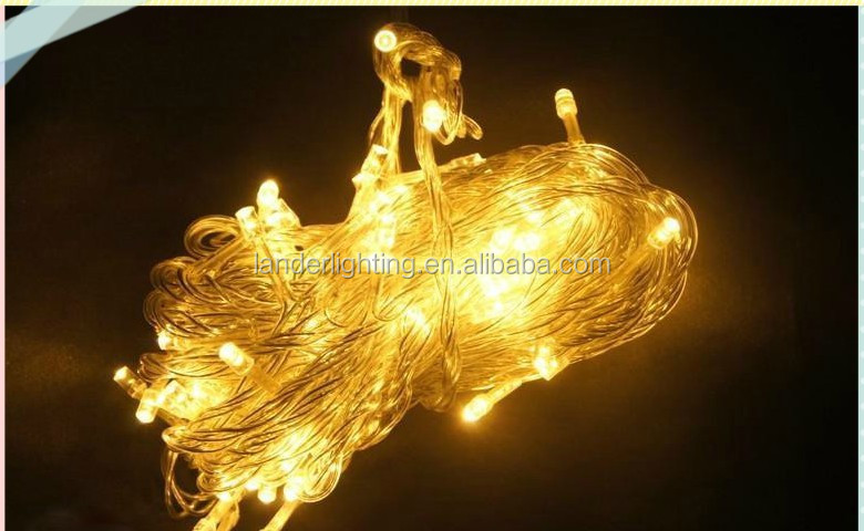 2017 hotselling Dimmer switch 10m fairy shaped camping string lights led