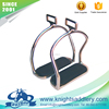 Stainless Steel Double Bent Leg Horse Riding Safety Stirrups