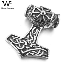 Vintage Jewelry Man Hammer Irish Celtic Knot Cross Amulet Jewelry Pendant