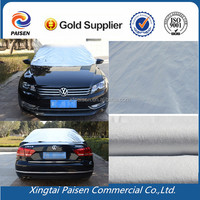 fireproof aluminum film silver car cover /waterproof PEVA silver car cover/ uv vehicle shelter
