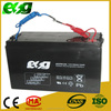Maintenance free SLA 12V 100ah lead acid battery for Solar street light system