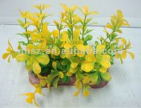 Small Plastic Aquarium Plant for Aquarium Tank