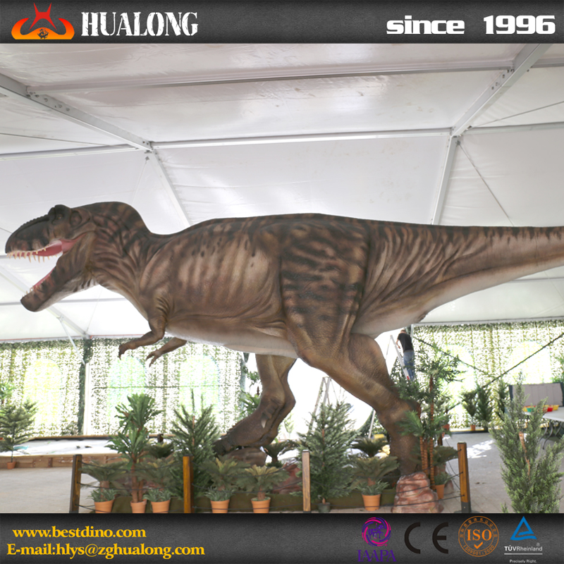 Outdoor Playground Attractive Animatronic Dinosauar For Kids