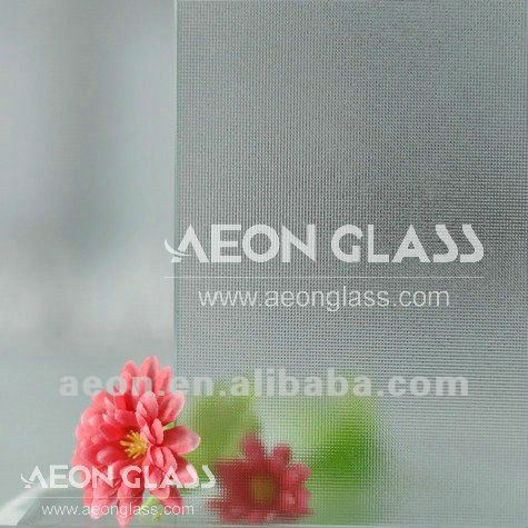 3mm-8mm Clear/Colored Textured Glass (Canelado, Diamond, Flora, Karatachi, Millennium, Mistlite, Nashiji etc) with CE&ISO