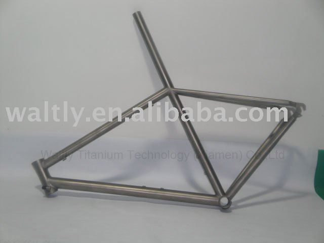 "24"" lightweight mountain titanium bike frame-WT04"