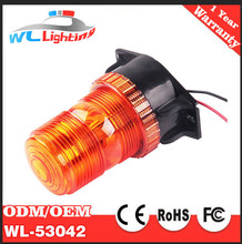 10v- 30v amber led forklift safety strobe warning beacon light for forklift