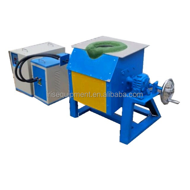 industrial scrap copper melting equipment and induction brass melting pot/machine