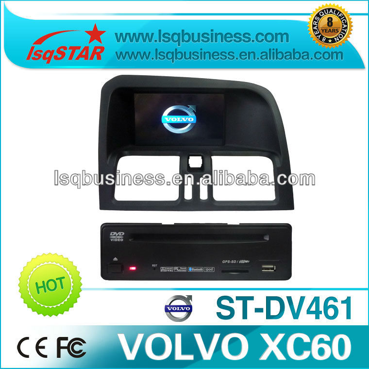 Car MP3 player for Volvo XC60 with car GPS DVD MP4 Bluetooth 3D AUX TV,ST-DV461