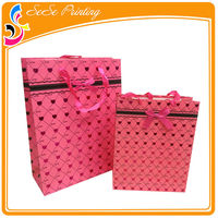 New arts and crafts pink zebra gift bags