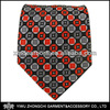 Scope - Black/Red/Gray Silk Ties for Men