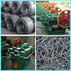 Raw steel wire material for nail making