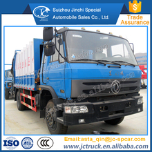 Diesel engine and Manual transmission Type 10M3 refuse compacted garbage truck on sale