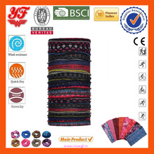 Sublimation Printing custom design elastic men's headband multifunctional seamless sports head wrap