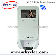 new product distributor wanted,new concept of advertisement,Hand Sanitizer Dispenser With WIFI LCD Display