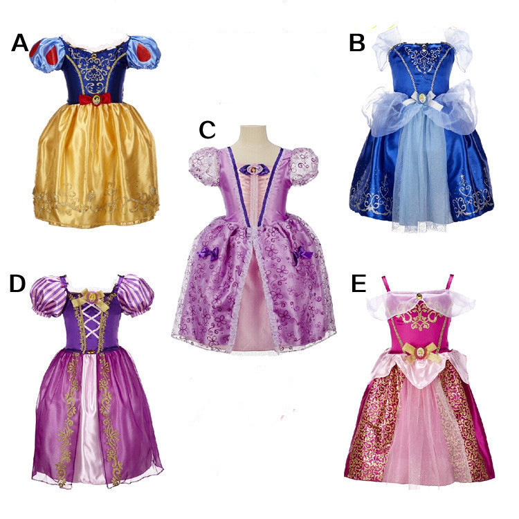 Onen children's clothing manufacturers selling frozen children's Princess Dress Girls Dress skirts